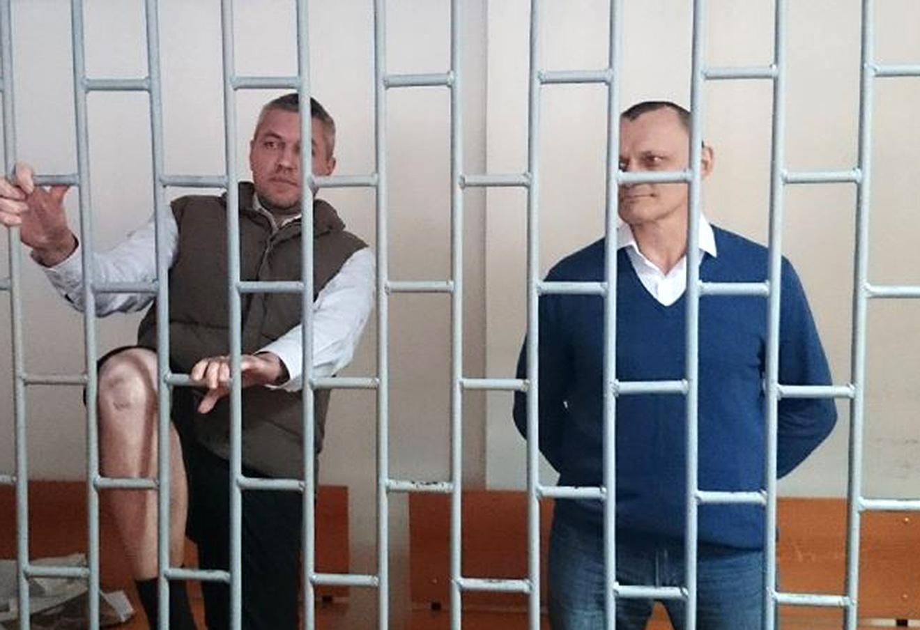 Николай Карпюк (справа) и Станислав Клых.