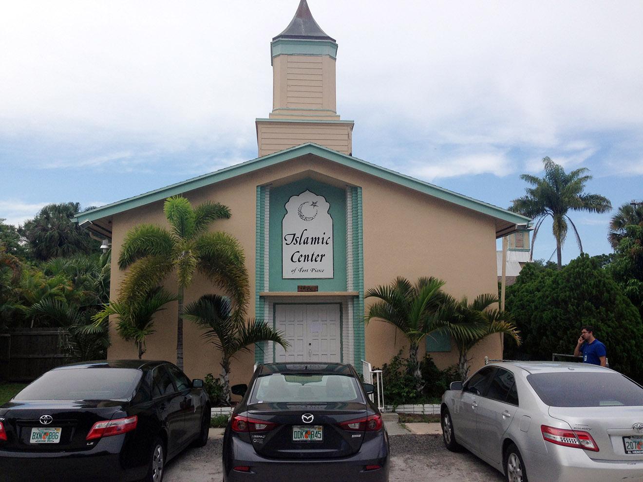 Мечеть в Форт-Пирсе.