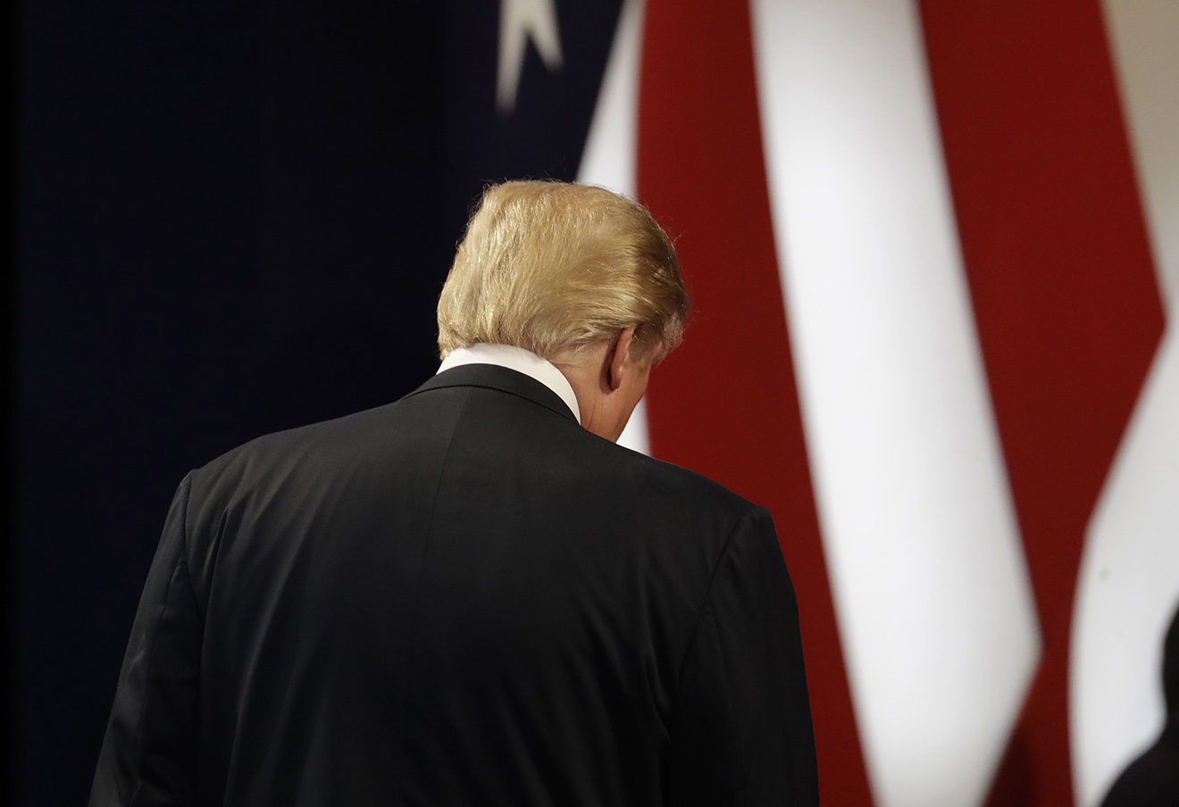 Дональд Трамп, 19 октября 2016 года. Фото: Patrick Semansky / AP