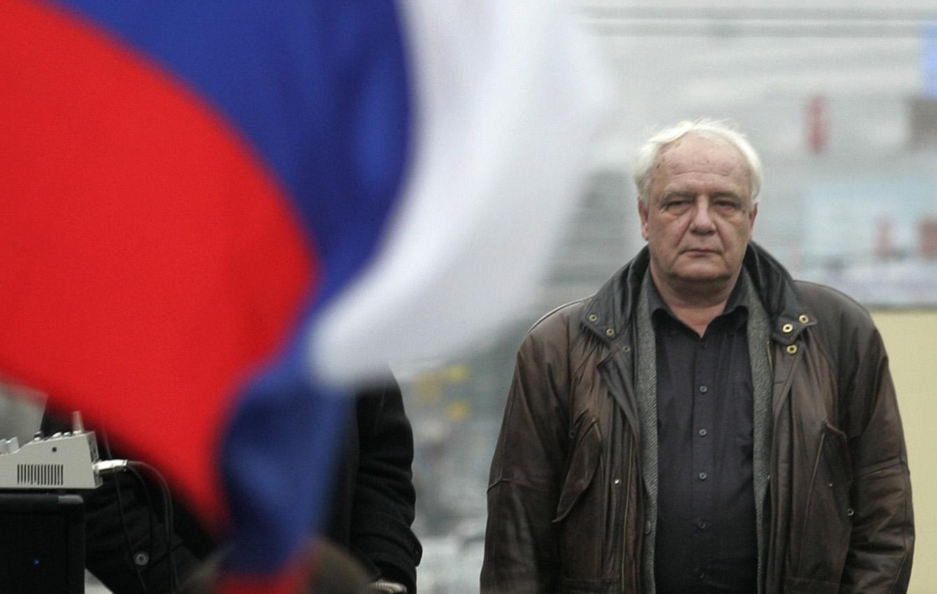Митинг в поддержку кандидатуры Буковского на выборах президента России, 2007 год.