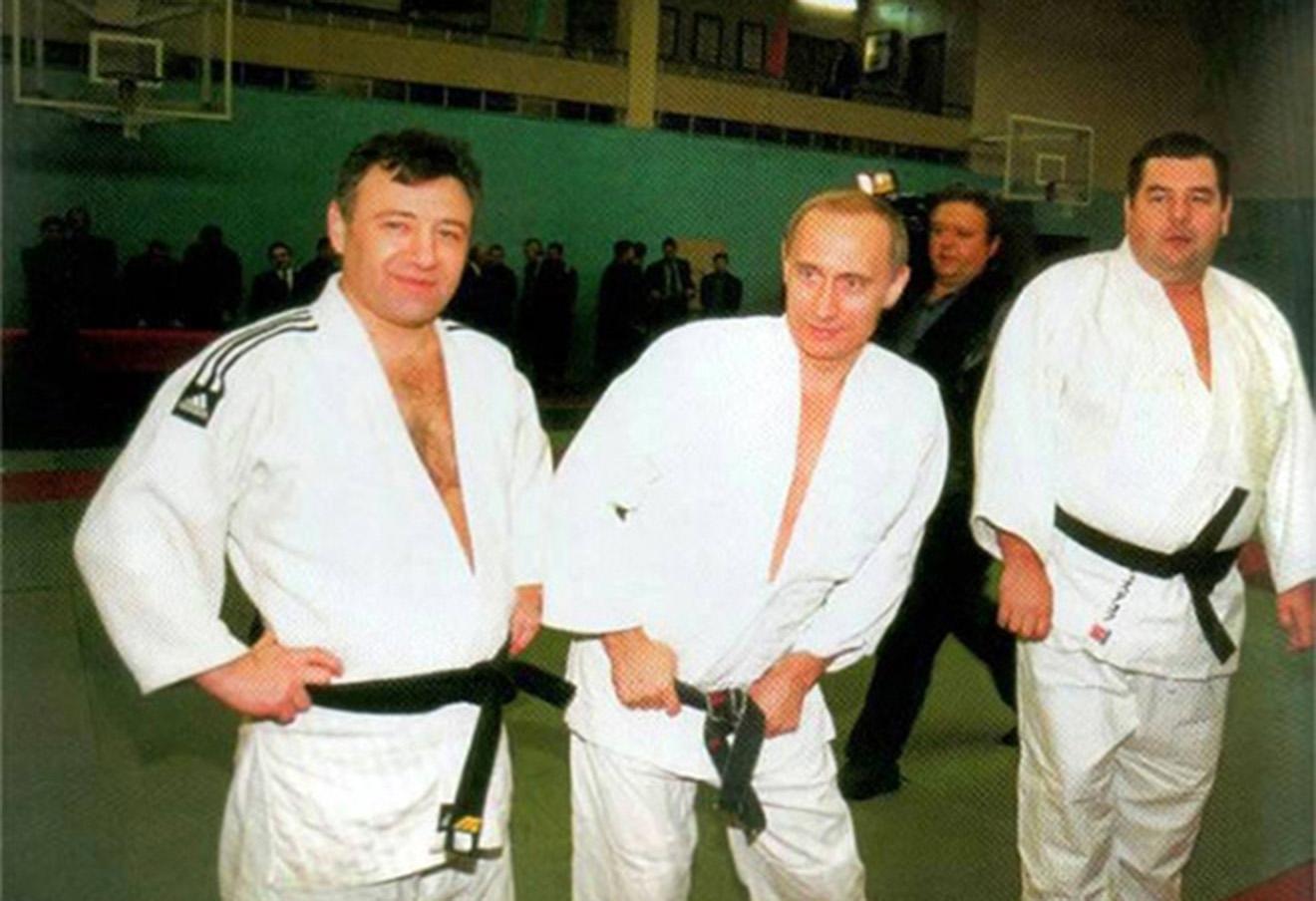 Аркадий Ротенберг, Владимир Путин и Василий Шестаков