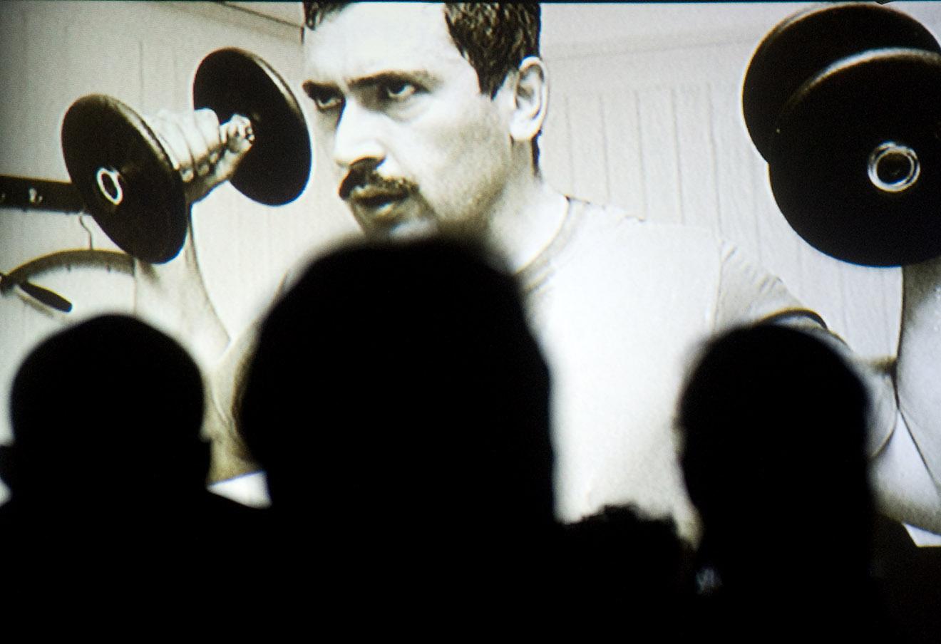 Пресс-показ документального фильма «Ходорковский» немецкого режиссера Кирилла Туши в Москве, 2011 год.