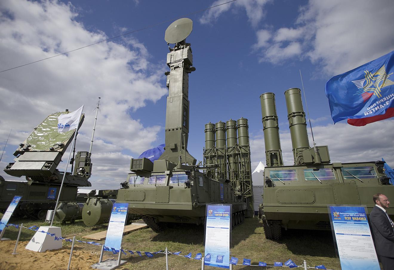 Российский ракетный комплекс ПВО С-300, который был размещен в Сирии. Фото: Иван Секретаев / AP / East News