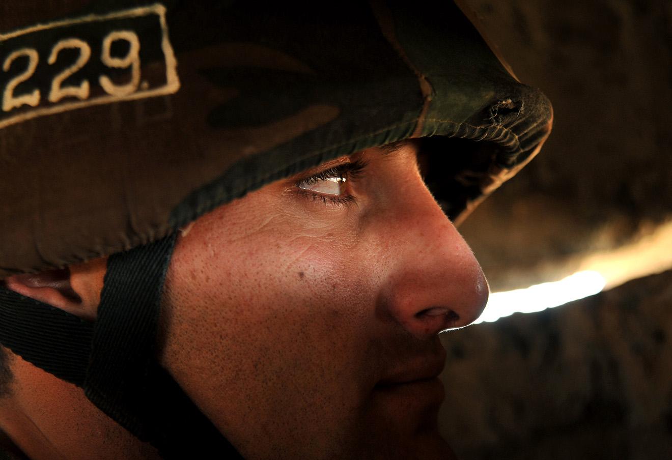 Солдат НКР на границе с Азербайджаном. Фото: Karen Minasyan / AFP / Архив