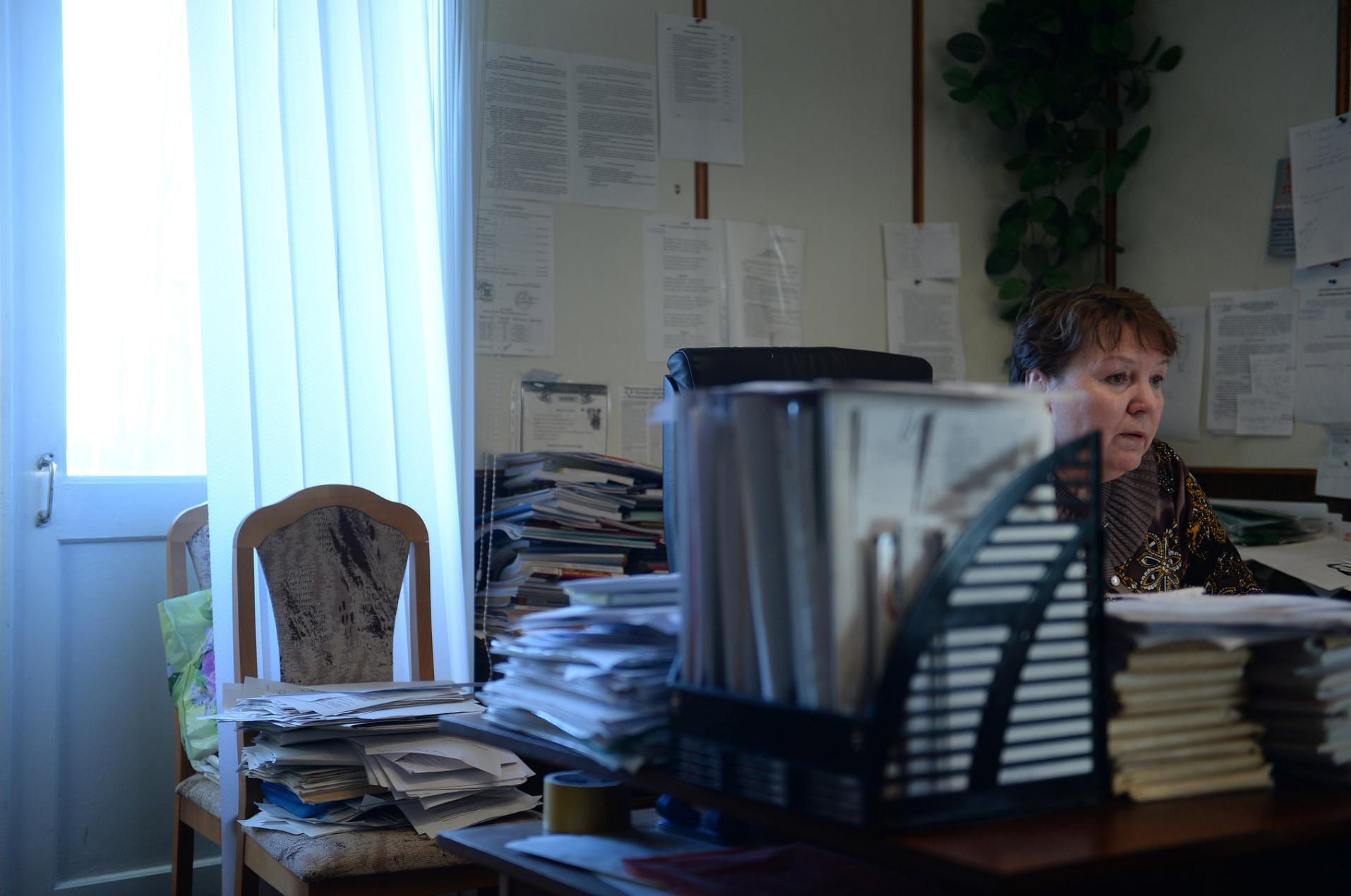 Светлана Антропова профсоюзный лидер из Пикалева.