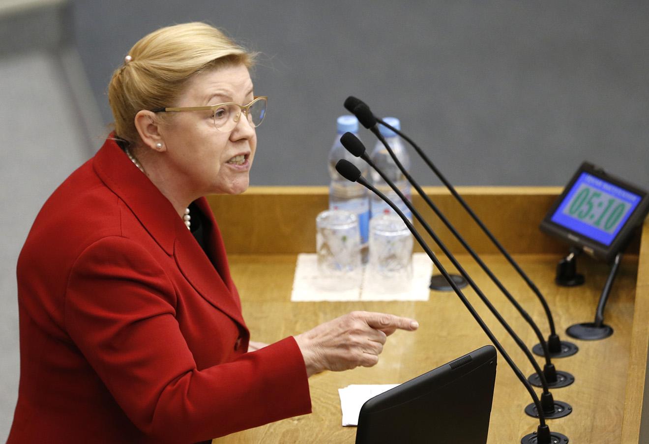 Елена Мизулина. Фото: Джапаридзе Михаил / ТАСС