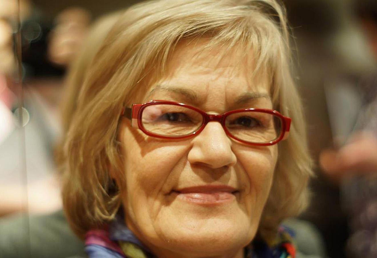 Людмила Кузьмина. Фото: личная страница в Facebook