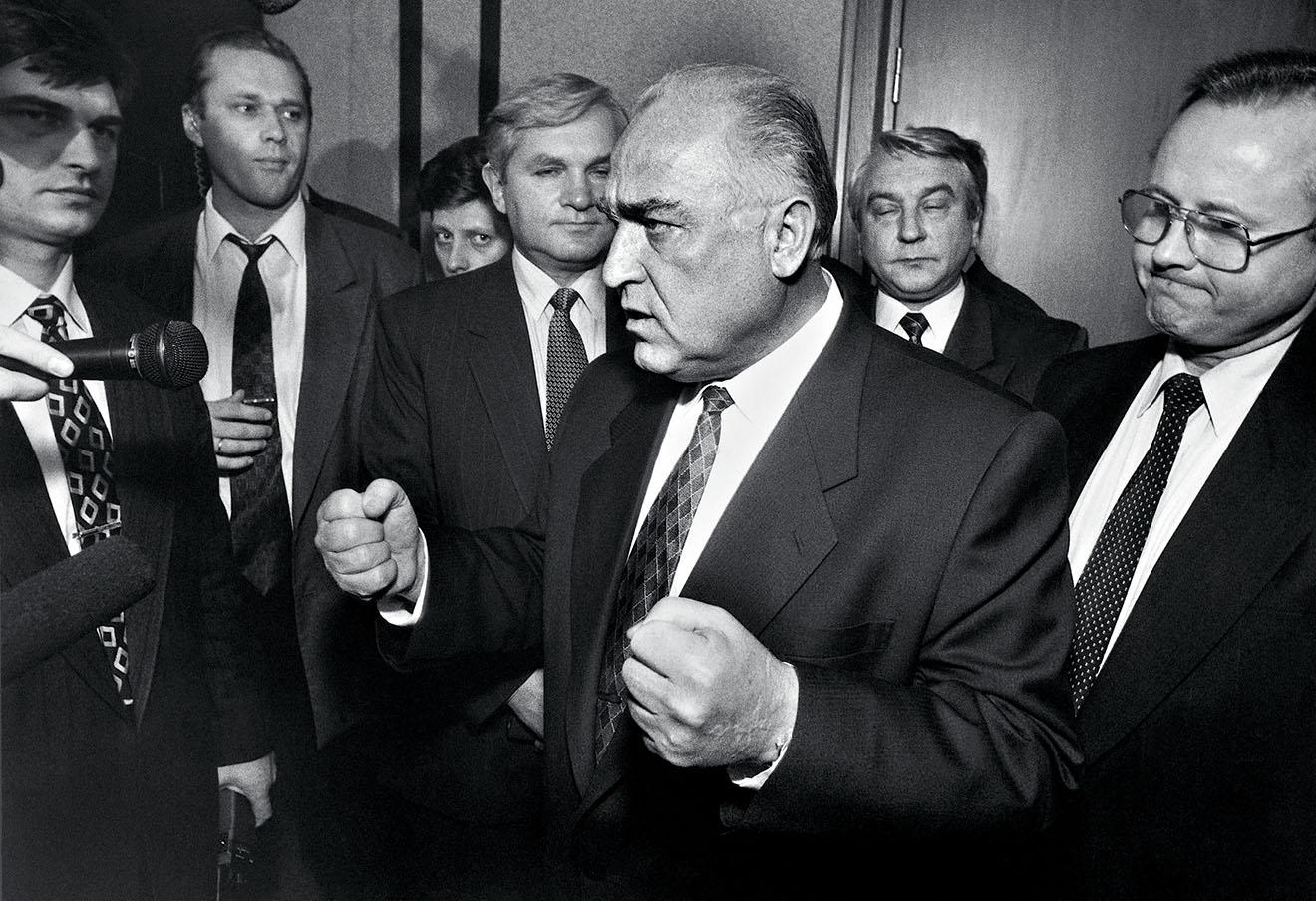 Виктор Черномырдин в Государственной думе, 1996 год. Фото: Игорь Табаков / ТАСС