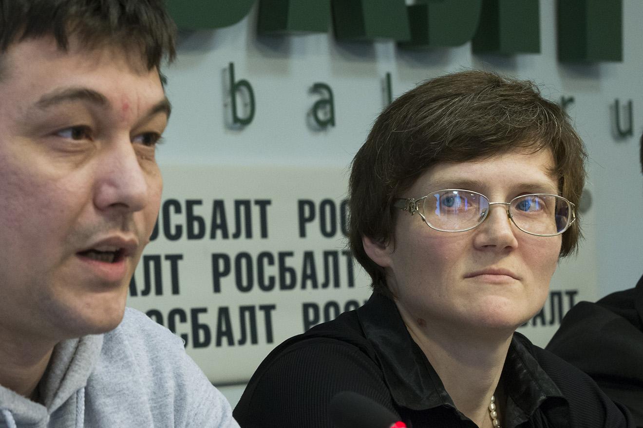 Светлана Давыдова с мужем Анатолием Горловым.