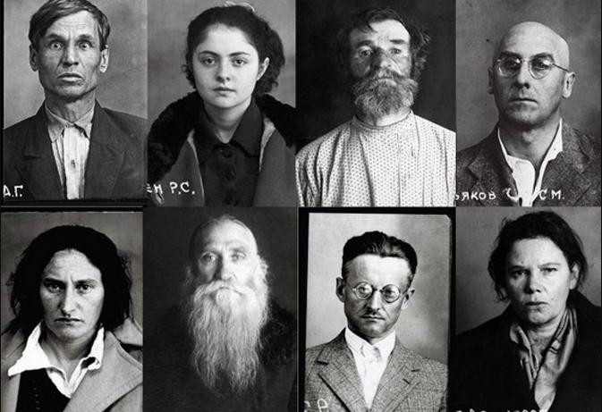 Подборка архивных фотографий жертв сталинского террора из фотопроекта «Большой Террор 1937-1938» Томаша Кизны