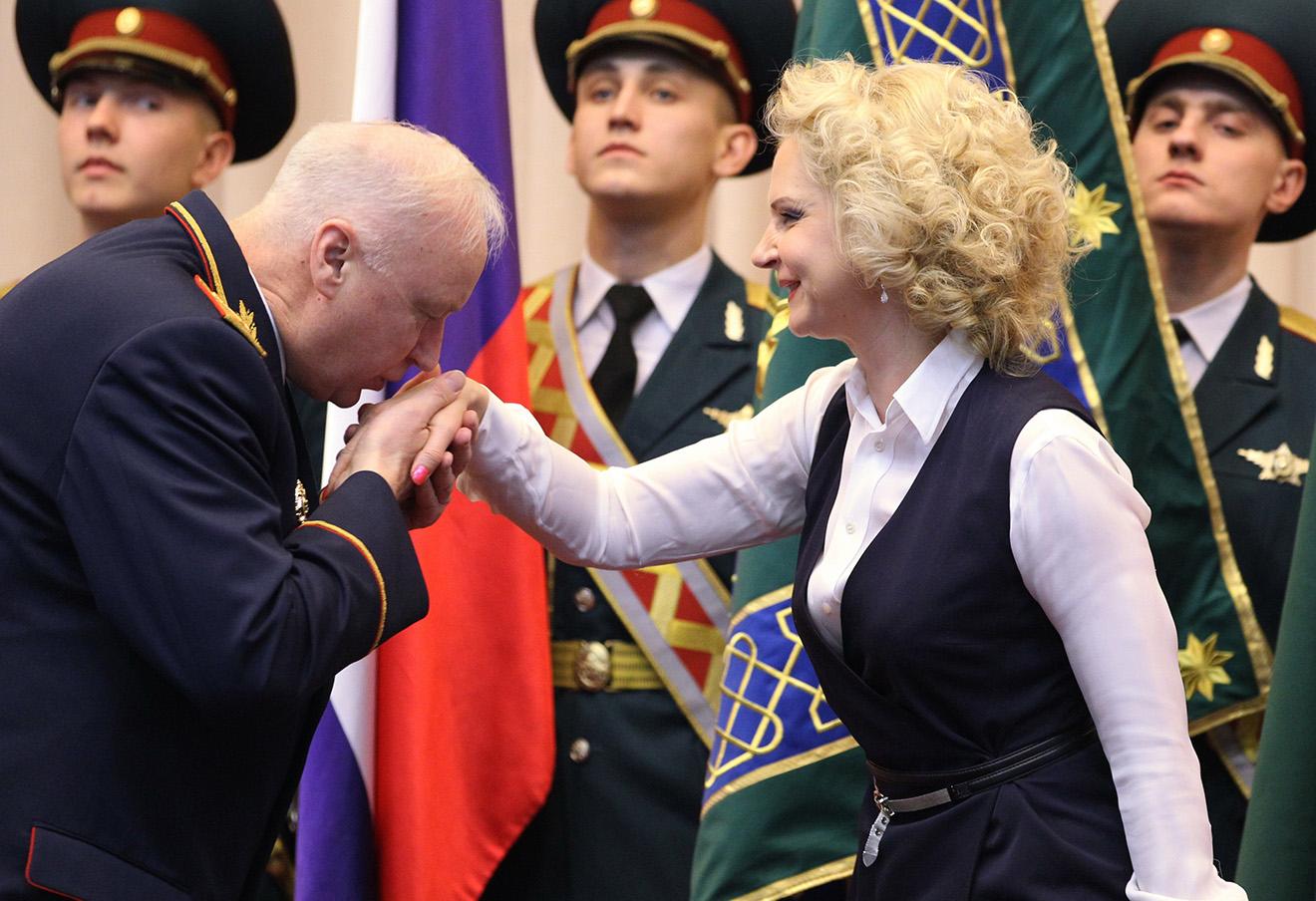 Александр Бастрыкин и председатель Счетной палаты РФ Татьяна Голикова.