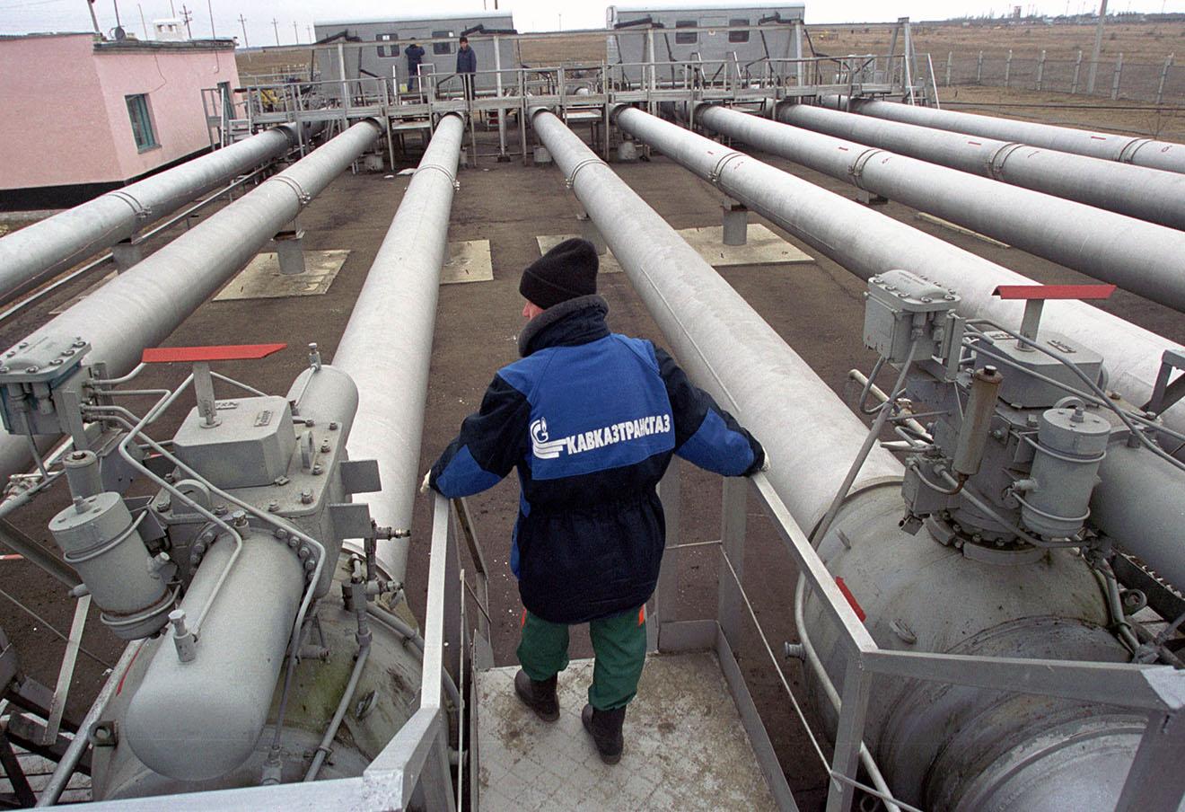 Газопровод «Голубой поток», Ставропольский край.