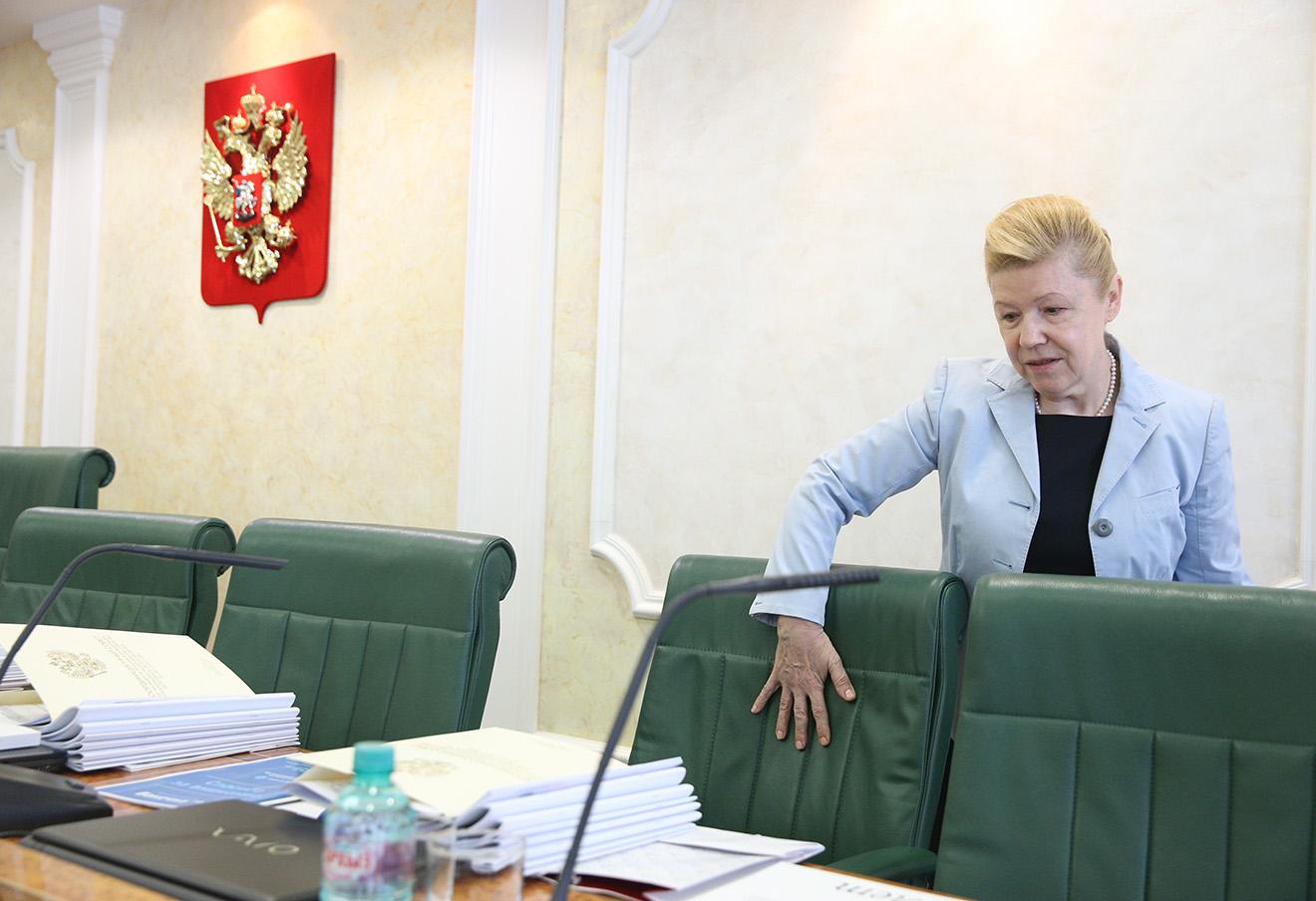 Елена Мизулина. Фото: Михаил Почуев / ТАСС