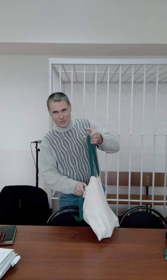 Евгений Витишко в зале суда 3 декабря.